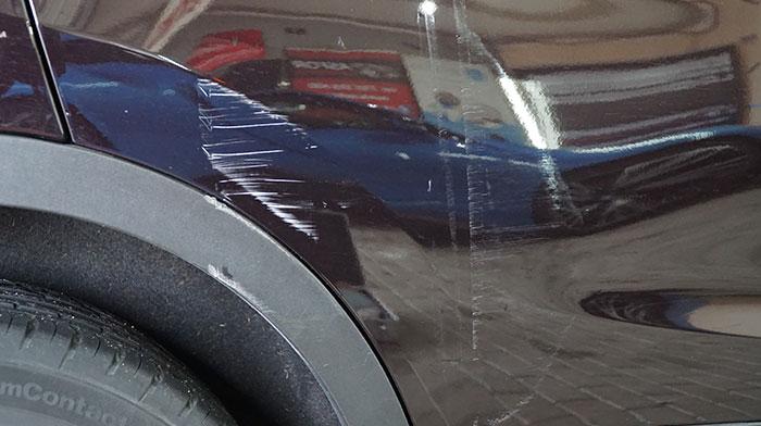 Usuwanie otarć i rys lakieru Asfor Autodetailing Łódź