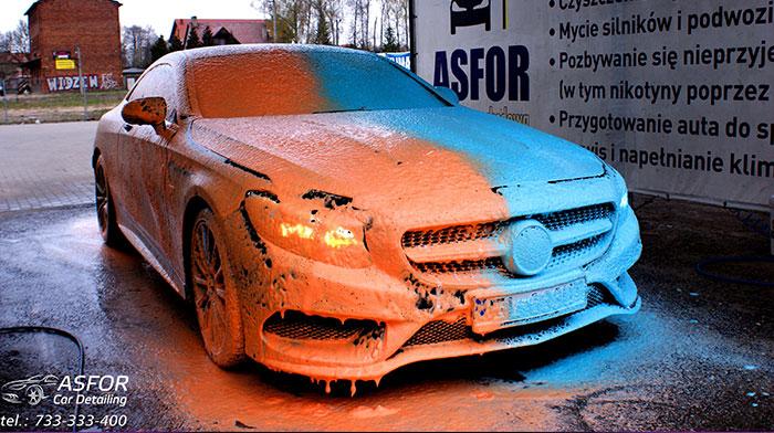 Bepieczne mycie auta Asfor Łódź