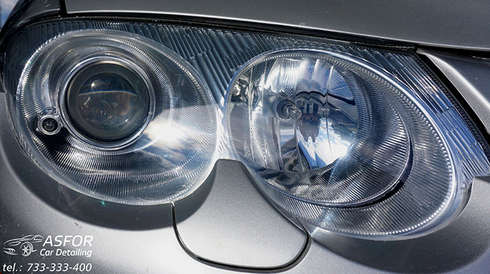 Auto detaling reflektorów Asfor Łódź
