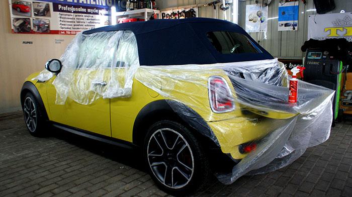 Detaling dachu cabrio Asfor Łódź